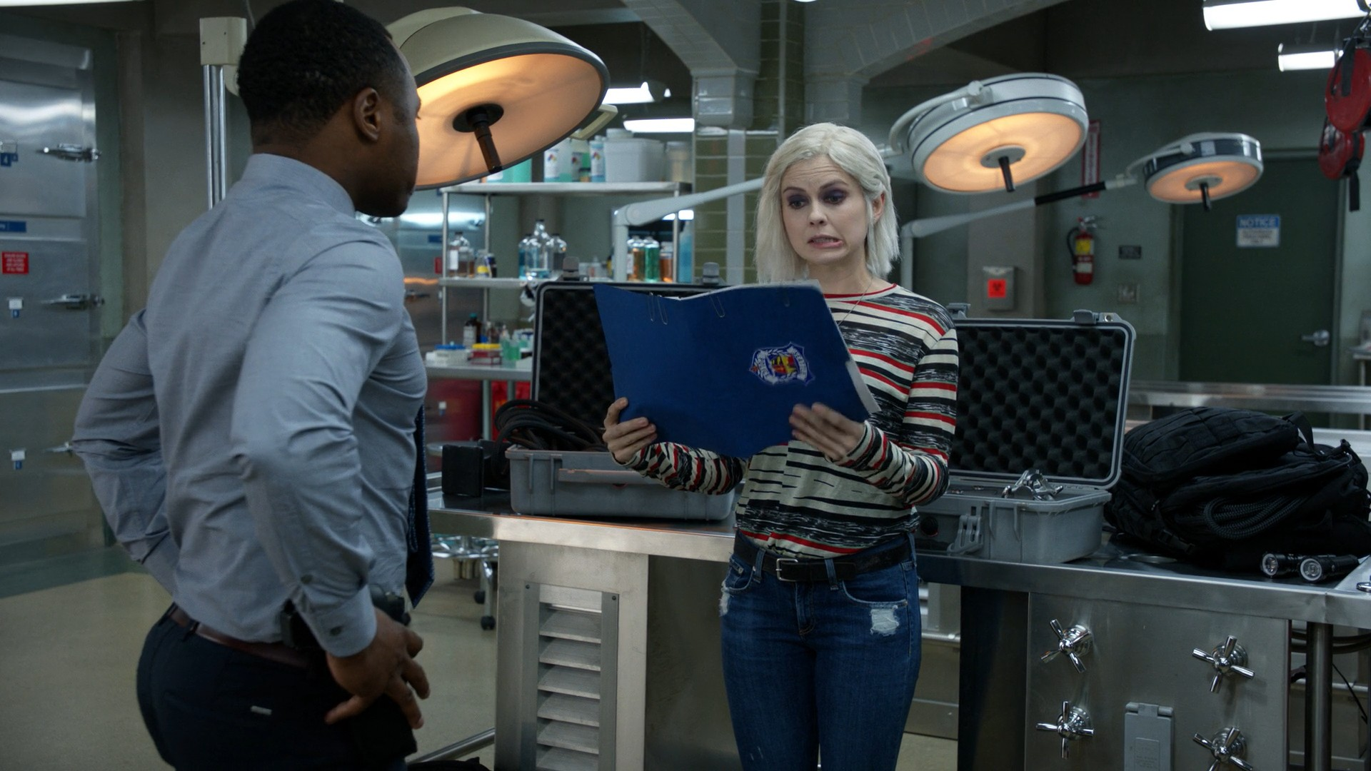Rose McIver- iZombie S05E011-13 (Series Finale, Part 1)