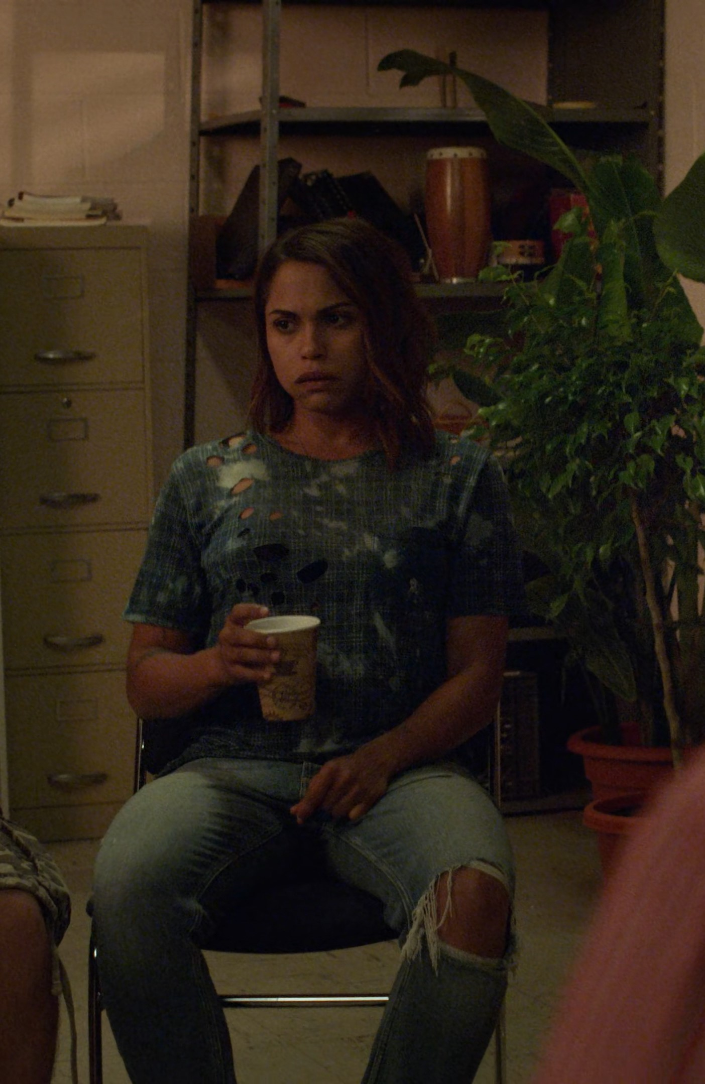 [4K] Monica Raymund- Hightown S01E08 (Season Finale)